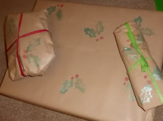 alternative wrapping paper