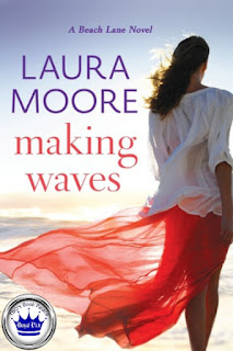 romance novel covers, contemporary romance, Royal Pick, Making Waves by Laura Moore
