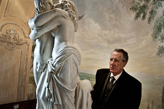 Geoffrey Rush as Virgil Oldman in The Best Offer, Directed by Giuseppe Tornatore