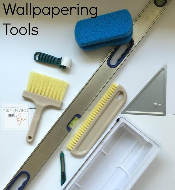 Wallpapering tools :: OrganizingMadeFun.com