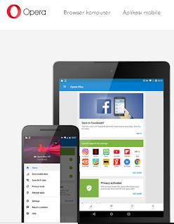 cara menggunakan Opera Max VPN