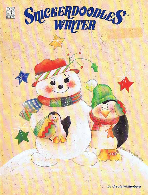Snickerdoodles Winter by Ursula Wollenberg Decorative Tole Painting