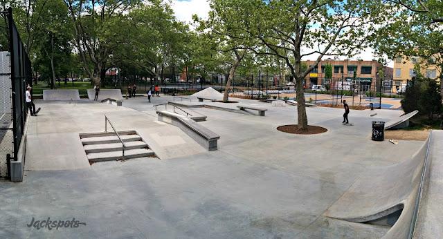 Skatepark New York Cooper Park