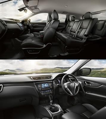 Interior Nissan X-Trail Mobil SUV Terbaik di Indonesia