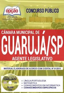 Concurso Câmara de Guarujá 2018