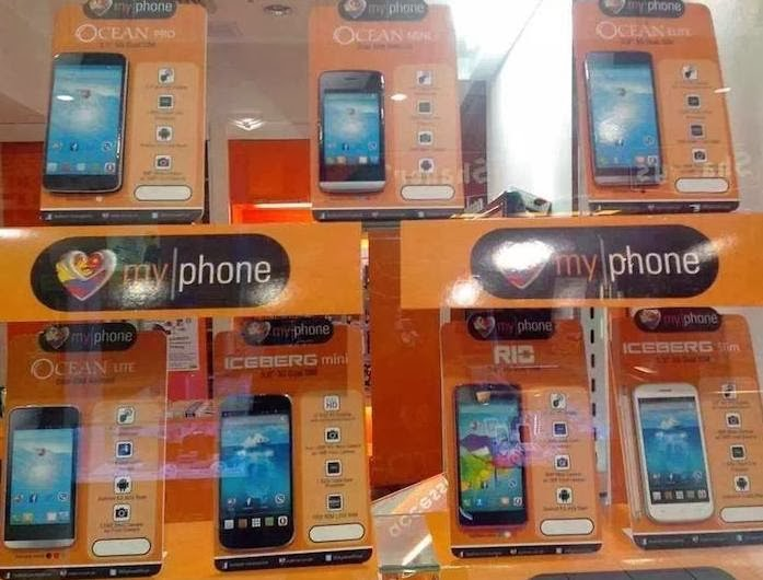 MyPhone Ocean Series List: Mini, Pro, Lite, Elite Android Phones