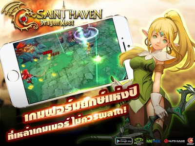 Dragon Nest - Saint Haven Mod APK v1.0 Update Full for Android Terbaru 2017 Gratis
