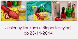 http://nieperfekcyjnakasia.blogspot.com/2014/11/jesienny-konkurs-kosmetyczny.html