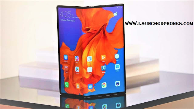 Huawei Mate X 5G foldable mobile phone