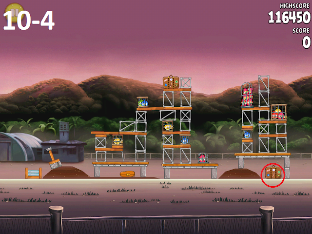 Angry Birds Rio - Airfield Chase 10-4