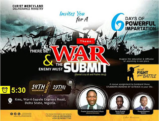 Generals At War! Prophet Jeremiah Omoto Fufeyin, Bushiri & Angel set for battle