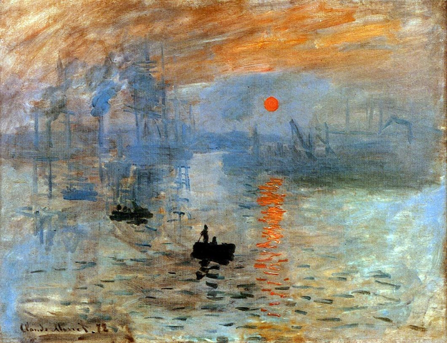 Claude Monet 1840-1926 | Impression Sunrise, 1872