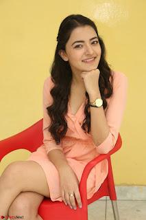 Rukshar Mir in a Peachy Deep Neck Short Dress 047.JPG