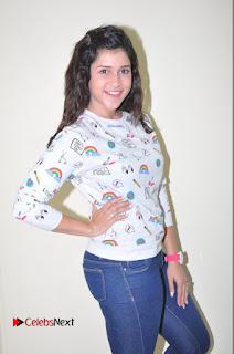 Actress Mannara Chopra Pictures in Denim Jeams at Thikka Movie Interview  0113.JPG