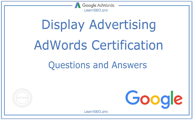 Display Advertising Certification