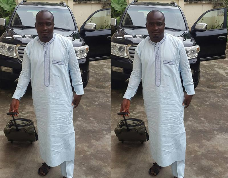 Guy who trekked for Buhari heads out for 2016 Hajj, now drives a Toyota Prado