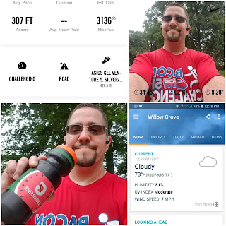 running selfie 06.13.18 with Gatorade Endurance