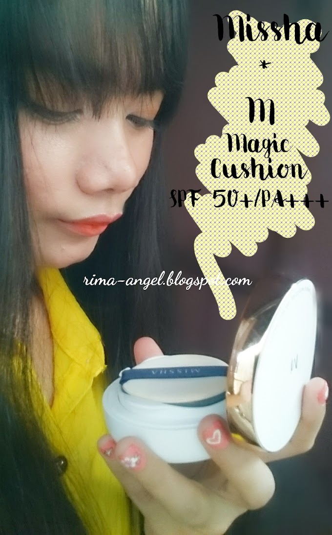 Review Missha M Magic Cushion Moisture SPF 50+/Pa+++ #23 Natural Beige