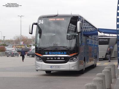 Setra S517 HDH, Sindbad Opole, TransExpo