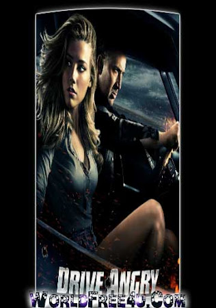 Poster Of Drive Angry 2011 In Hindi Bluray 720P Free Download