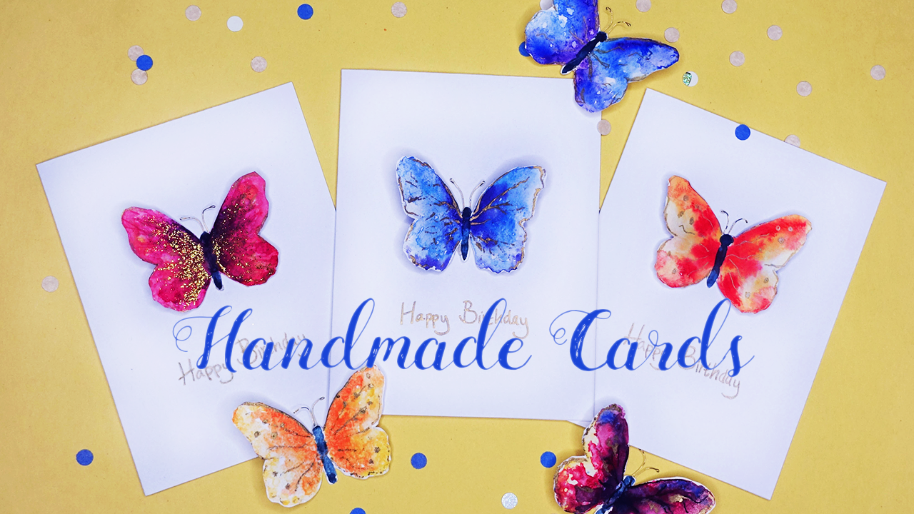 handmade butterfly greeting cards  the inspired artist