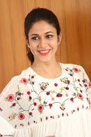 Lavanya Tripathi in Summer Style Spicy Short White Dress at her Interview  Exclusive 194.JPG