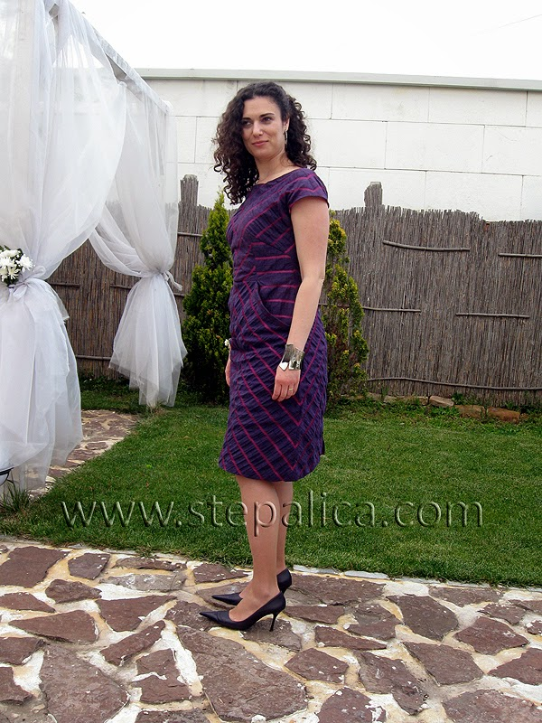 Štepalica: The chevron dress