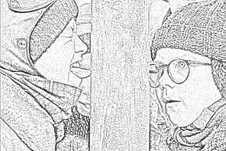 A Christmas Story coloring.filminspector.com