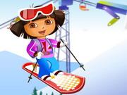 لعبة التزلج مع دورا