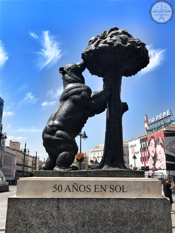 Madrid Espanha Puerta del Sol