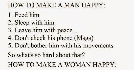 How to make a man happy on bed