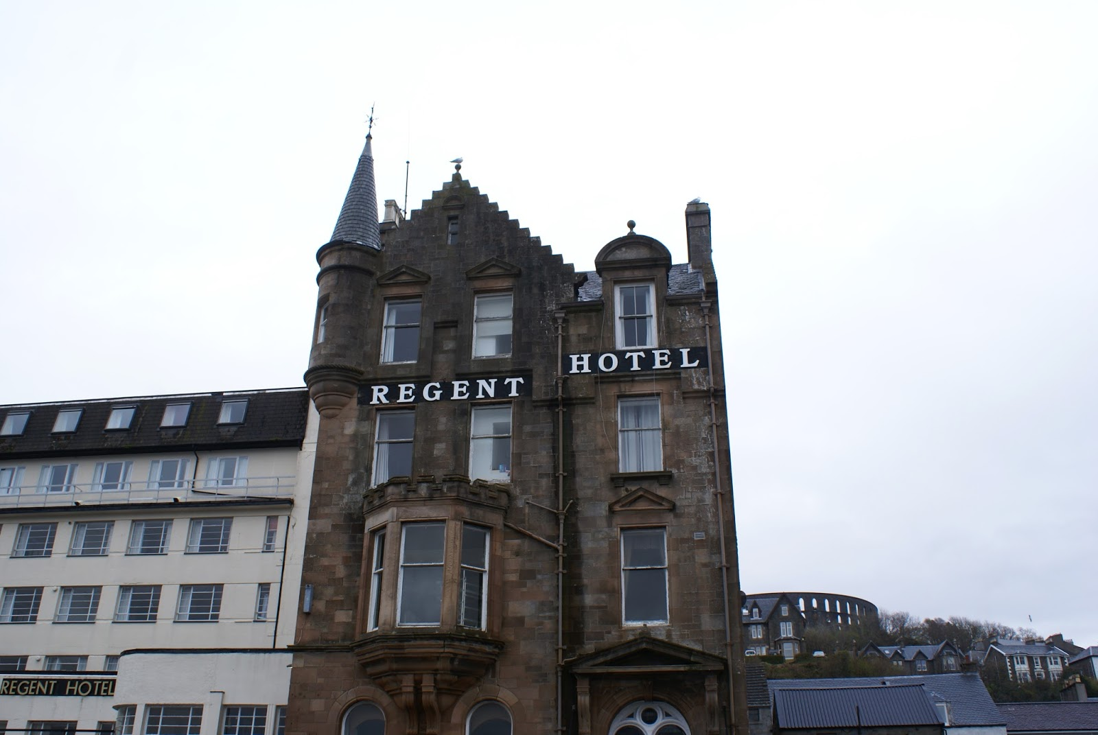 regent hotel oban argyll highlands scotland uk great britain camomille blend