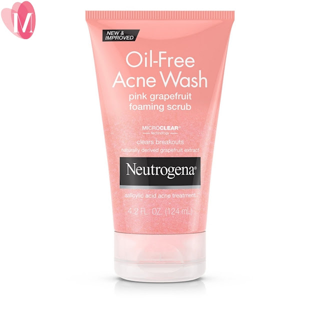 Neutrogena oil free acne wash pink grapefruit review