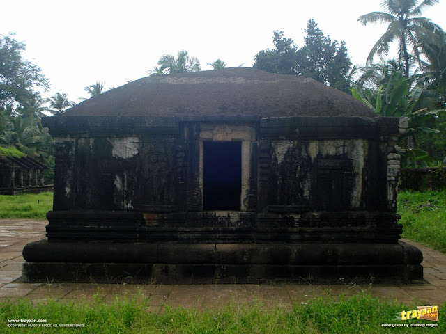 A Vaishnava temple in the Kattale Basadi group, Barkur, Udupi district, Karnataka, India