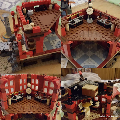 LEGO Ninjago Temple Of Airjitzu set 70751 upstairs build