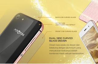 Desain Mewah Advan i5A 4G LTE