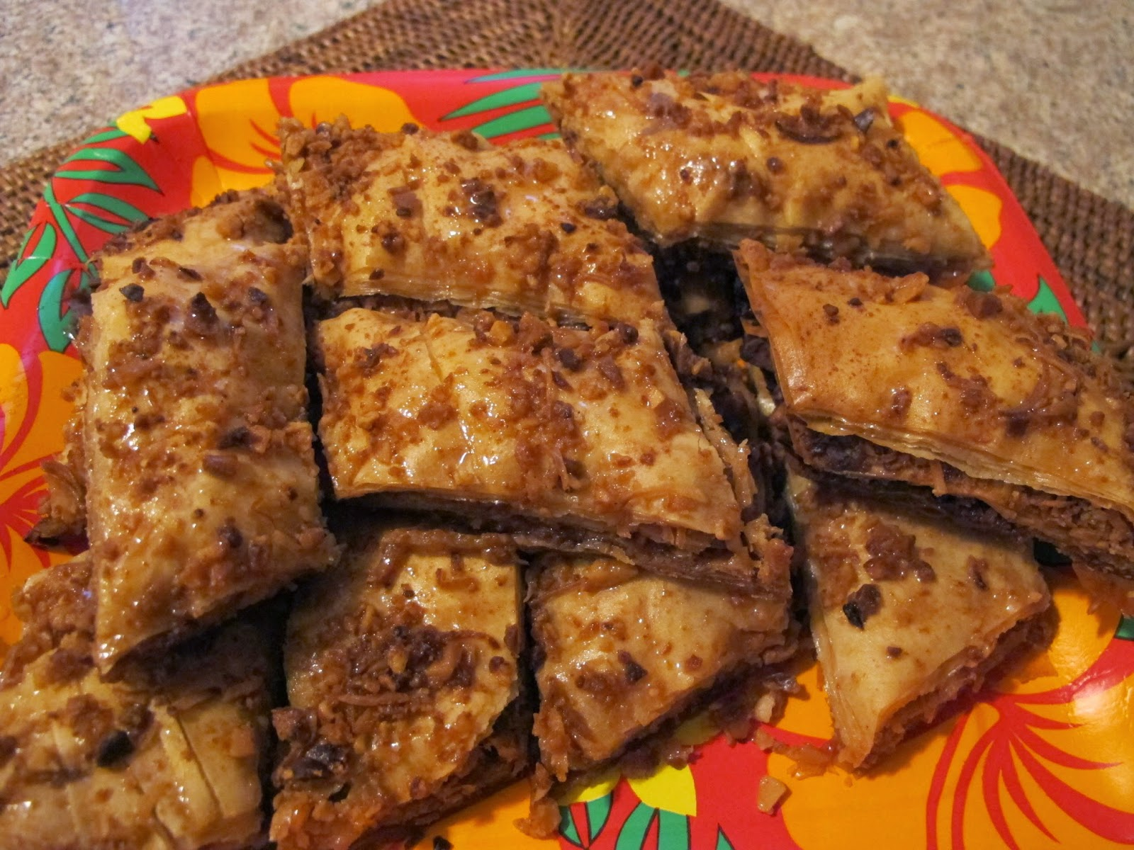 Hawaiian Baklava