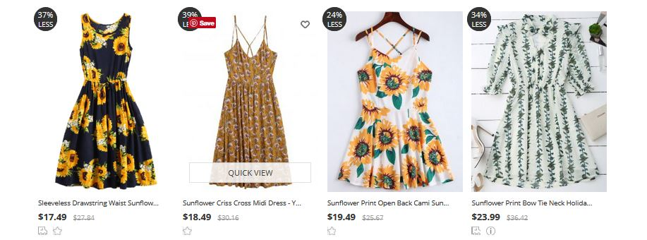http://www.zaful.com/s/ sunflower-print-dress/?lkid= 11406922