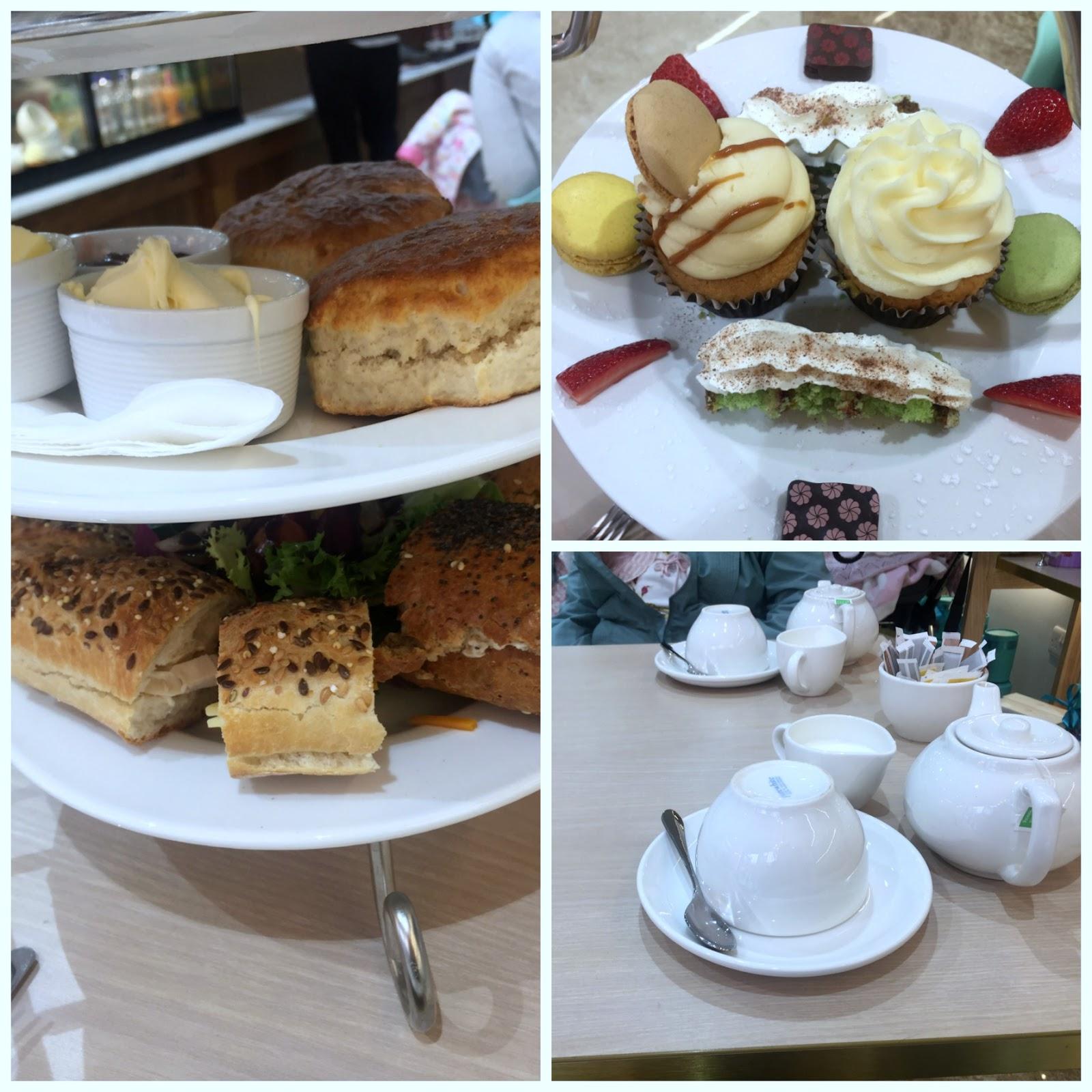 afternoon tea creams british luxury