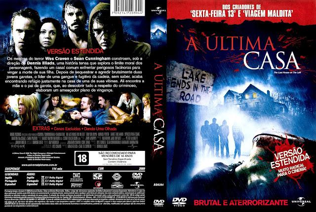 Capa DVD A Última Casa