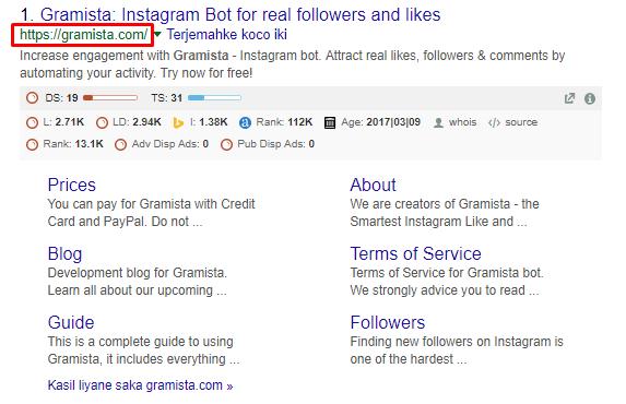 Tutorial auto Like dan Follower Instagram Menggunakan Gramista