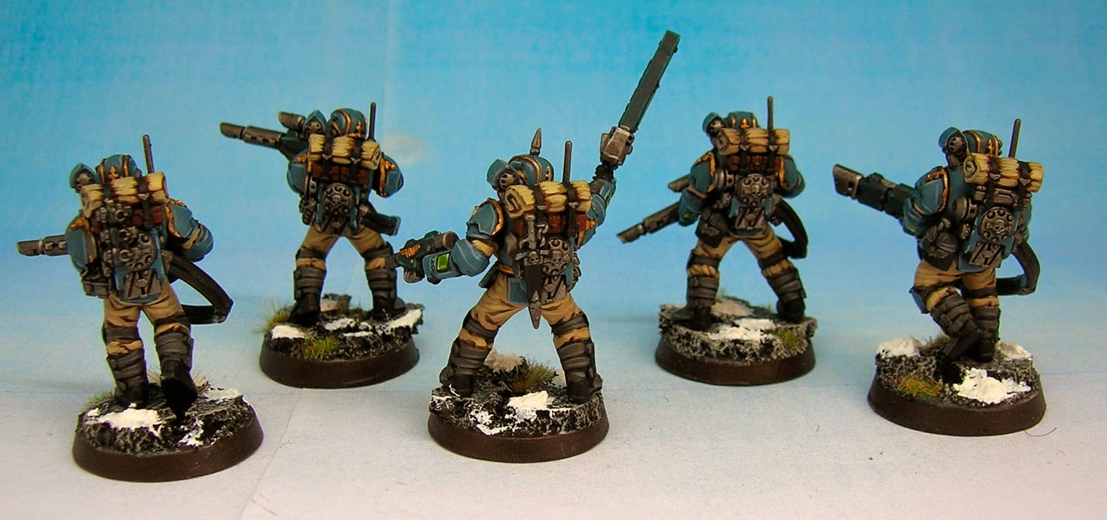 Vostroyan Scions: Twitchy Droid Painting Services: Militarum Tempestus