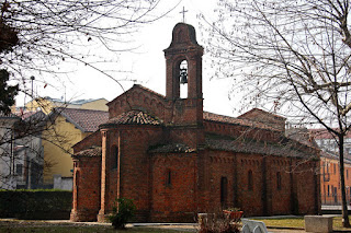 The Romanesque church of San Pietro in Robbio