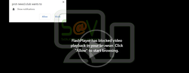 FlashPlayer has blocked video in your browser