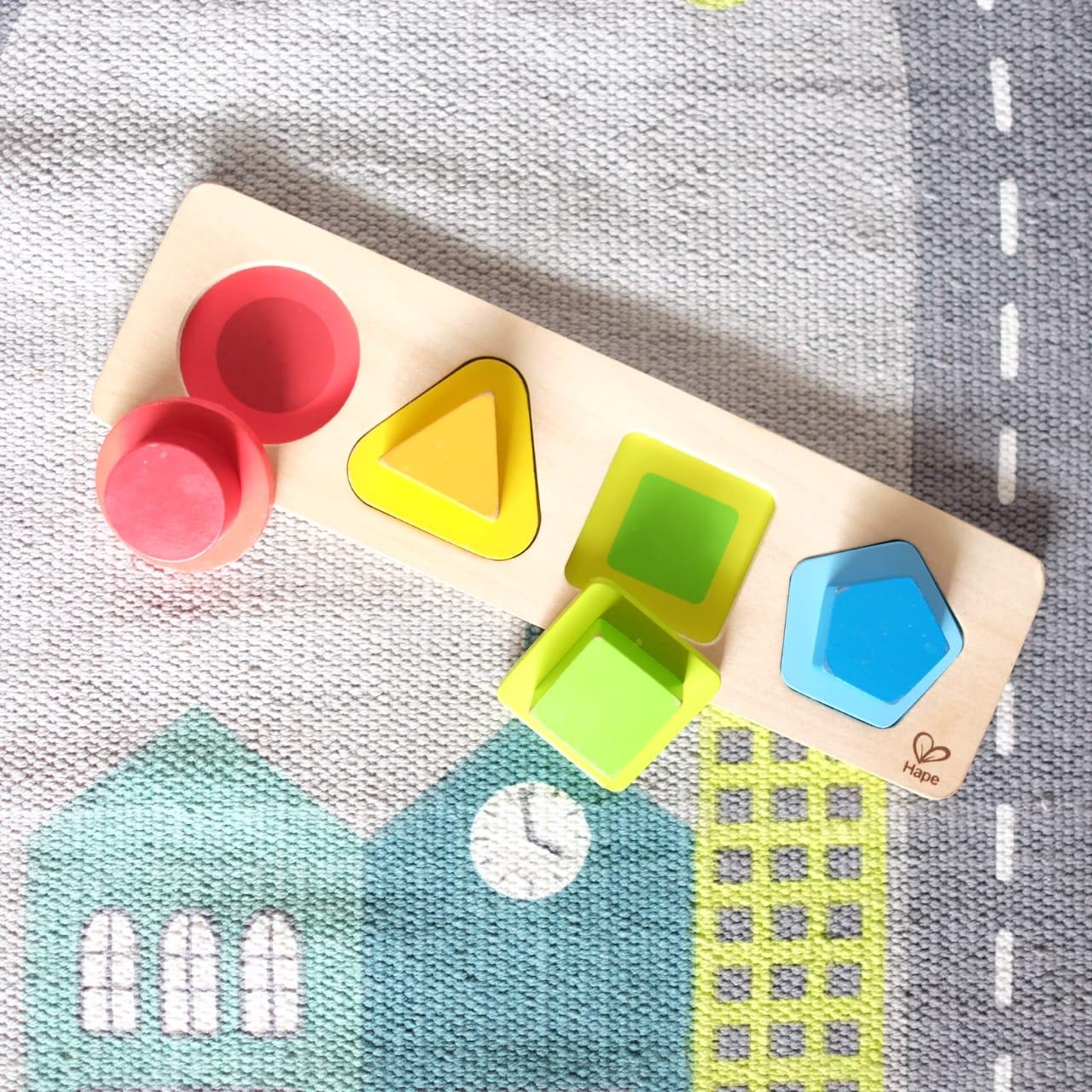 Hape shapes puzzle