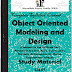 Object Oriented Modeling and Design Study Materials cum Notes PDF E-Books Free Download