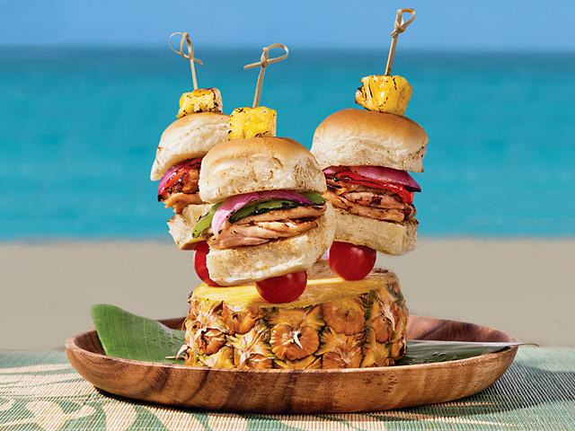 Tangerines And Tomatoes King S Hawaiian Burger Recipes