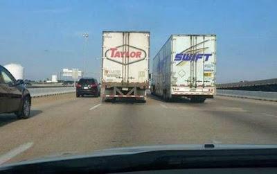 Taylor Swift witzige LKW Firmen