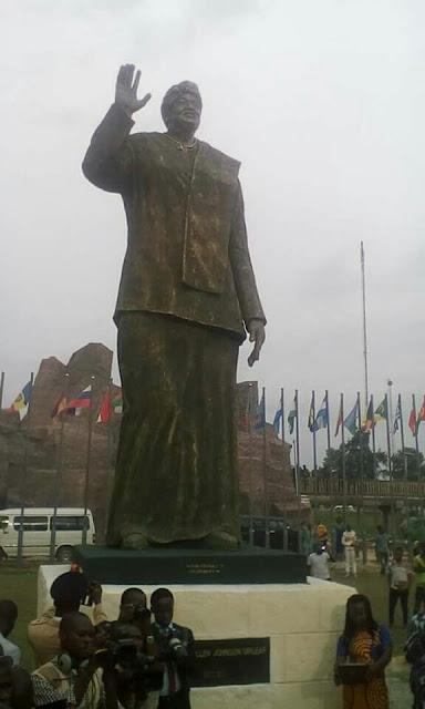 wp 1510340179766 - 9JA NEWS: Okorocha Unveils Statue Of Liberian President, Johnson-Sirleaf