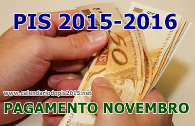 Pagamento PIS-PASEP 2015/2016